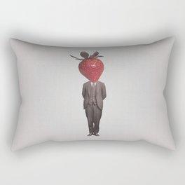 Strawberry Mugshot Rectangular Pillow