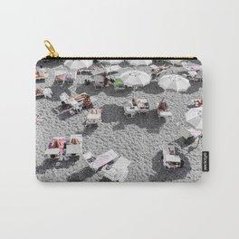 Grey Beach Carry-All Pouch