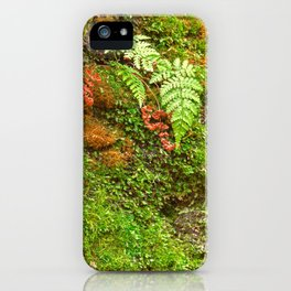 Moss Hysteria iPhone Case