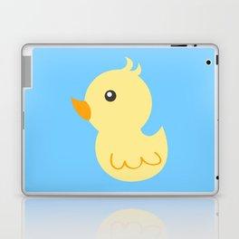 Yellow rubber ducks illustration Laptop & iPad Skin