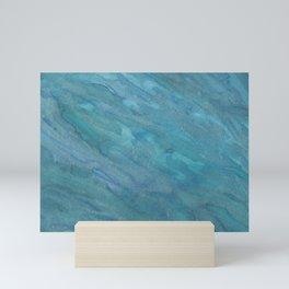 Blue Shimmer Mini Art Print