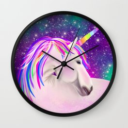 Celestial Unicorn Wall Clock