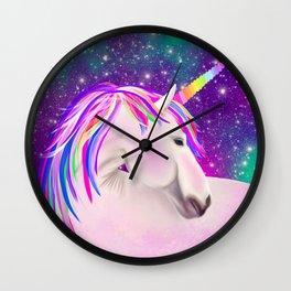 Celestial Unicorn Wall Clock