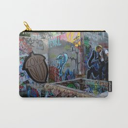 Tagged Carry-All Pouch