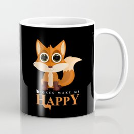 Foxes Make Me Happy Coffee Mug
