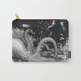 Bluegirl in the deep sea Carry-All Pouch