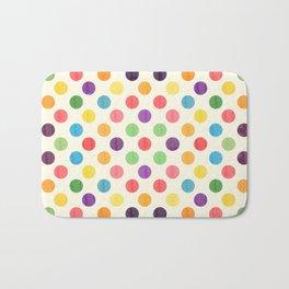 Lovely Dots Pattern II Bath Mat