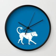 No Worries, I'll Just Walk Myself Wall Clock