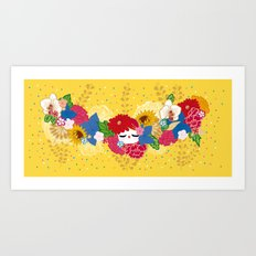 Kokeshina - Eté / Summer Art Print