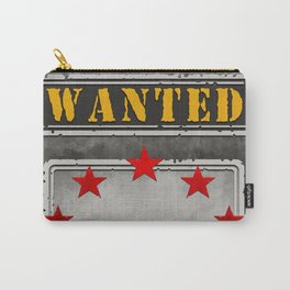 Rock Star Wanted Poster Carry-All Pouch