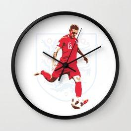 Kieran Trippier - Whip it Like Tripp Wall Clock