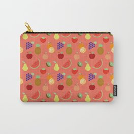 CHALKBOARD FRUIT Carry-All Pouch