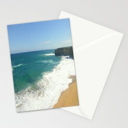 Australian Beaches Stationery Cards