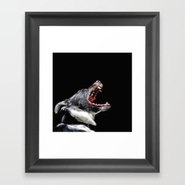 Bite The Hand That Feeds Framed Art Print