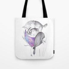 Two Moons Tote Bag