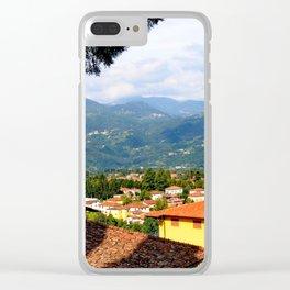 SunnyTuscany(Barga) Clear iPhone Case