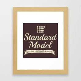 The Standard Model Framed Art Print