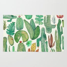 nature pattern collab. Rug