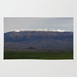 Snow on Mauna Kea Rug