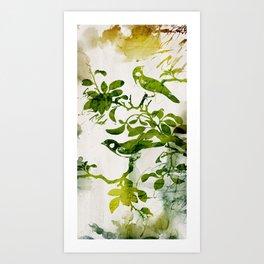 Birds (alternative) Art Print
