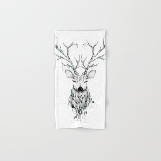 Poetic Deer Hand & Bath Towel