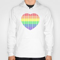 pride Hoodies featuring Pride by Tony Vazquez