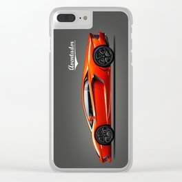 Aventador Clear iPhone Case