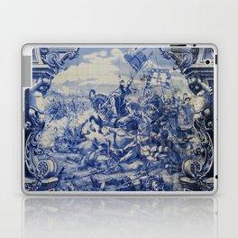 Portuguese traditional tile artwork Laptop & iPad Skin