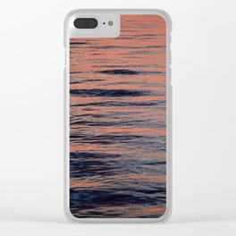 WATER COLOR Clear iPhone Case