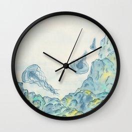 Jellyfish 2 Wall Clock