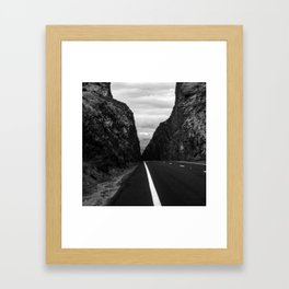 Highway Framed Art Print