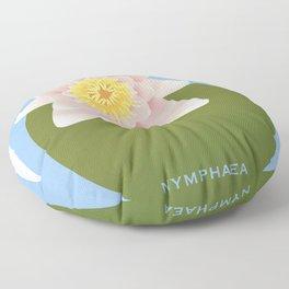 Nymphaea Floor Pillow