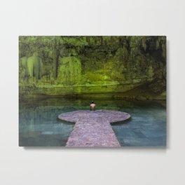 Suytun Cenote Metal Print
