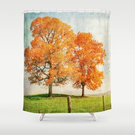 Siblings Shower Curtain