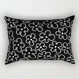 Pattern: Spring Flowers I Rectangular Pillow