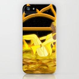Inner Light: Solar Plexus Chakra (Updated) iPhone Case