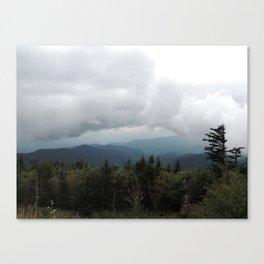 Smoky Mountains, Clingmans Dome Canvas Print