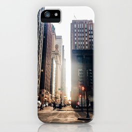 Chicago Street Commuter iPhone Case