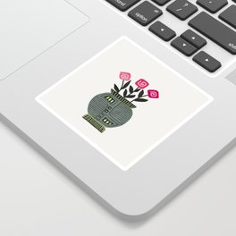 Floral vibes XI Sticker