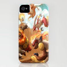 Fire Blast iPhone (4, 4s) Slim Case