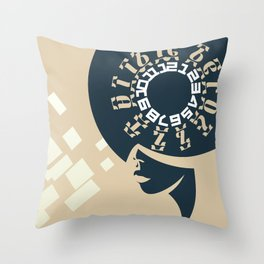 GEEZ-GIRL Throw Pillow