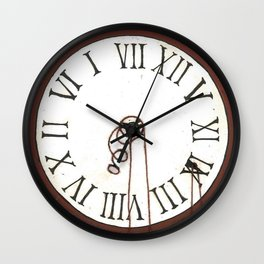 Puppet time ~ Marionetas del tiempo Wall Clock