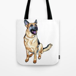 German Shepard Tote Bag