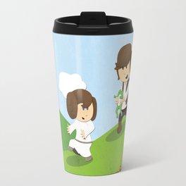 SW Kids - Han Chasing Leia Travel Mug