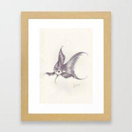 BALLPEN FISH 3 Framed Art Print