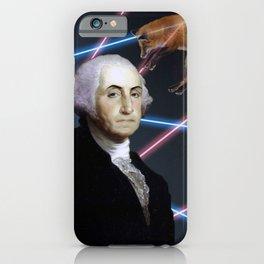 Rad George Washington iPhone Case