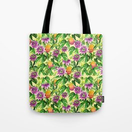 Passiflora vines Tote Bag