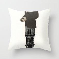 Deconstruction III (Sentinel) Throw Pillow