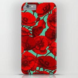 Poppies I iPhone Case
