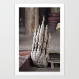 The Hand of God Art Print
